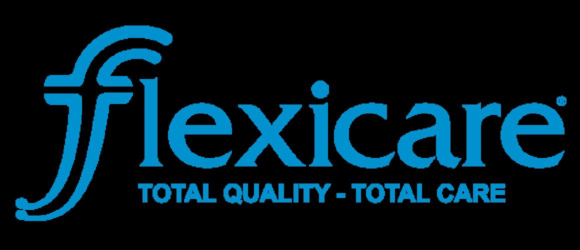 Flexicare blue logo transparent-16cm x 11cm
